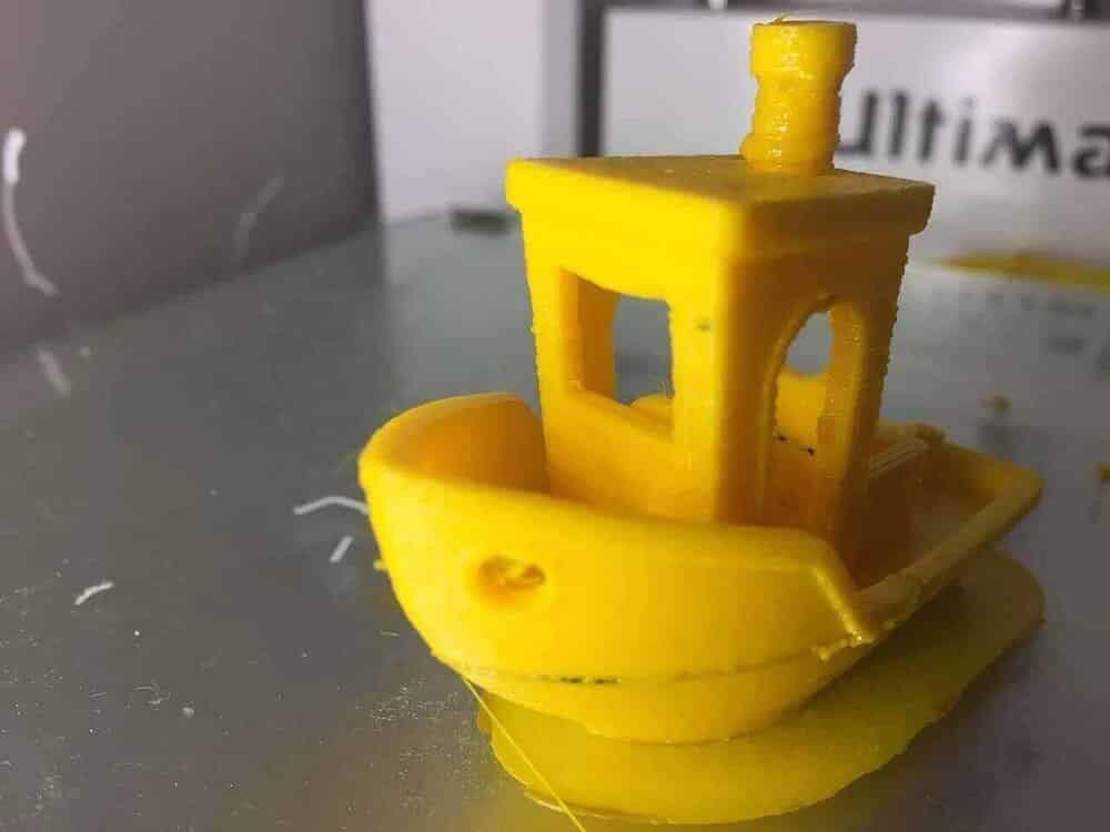 3D Baskı Sorunları ve Çözüm Kılavuzu 20 – Extrusion Temperature Too High